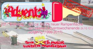 BMX AdventsJam 2018 (nur für BMX-Fahrer und Zuschauer) @ Skatehalle Aurich | Aurich | Niedersachsen | Deutschland