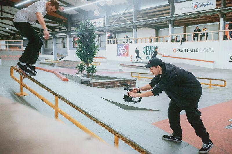 Skatehalle mieten für eine Session!