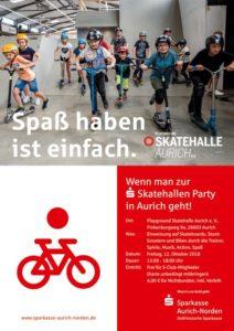 Sparkasse Skatehallen Party @ Playground Skatehalle Aurich e.V.