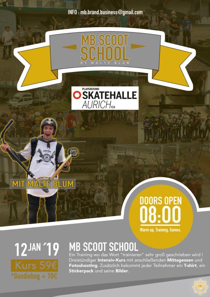 MB Scoot School @ Playground Skatehalle Aurich e.V. | Aurich | Niedersachsen | Deutschland