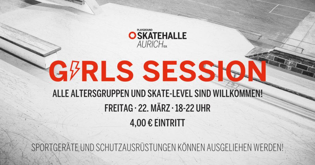 Girls Session @ Playground Skatehalle Aurich e.V. | Aurich | Niedersachsen | Deutschland