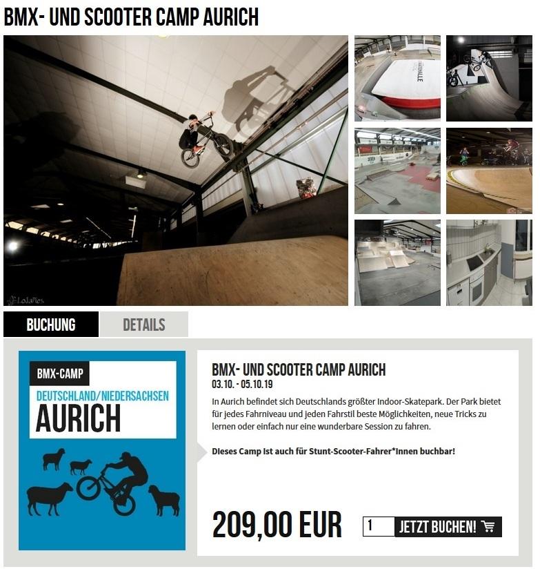 BMX- und Scooter Camp Aurich @ Playground Skatehalle Aurich e.V. | Aurich | Niedersachsen | Deutschland
