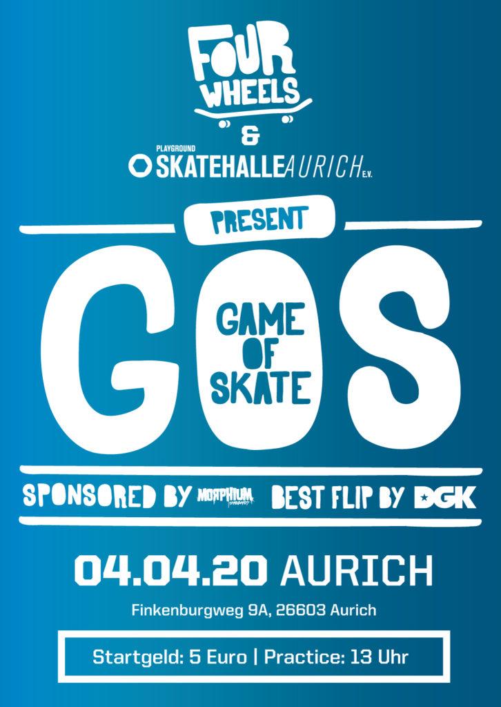 Game Of Skate @ Playground Skatehalle Aurich e.V. | Aurich | Niedersachsen | Deutschland